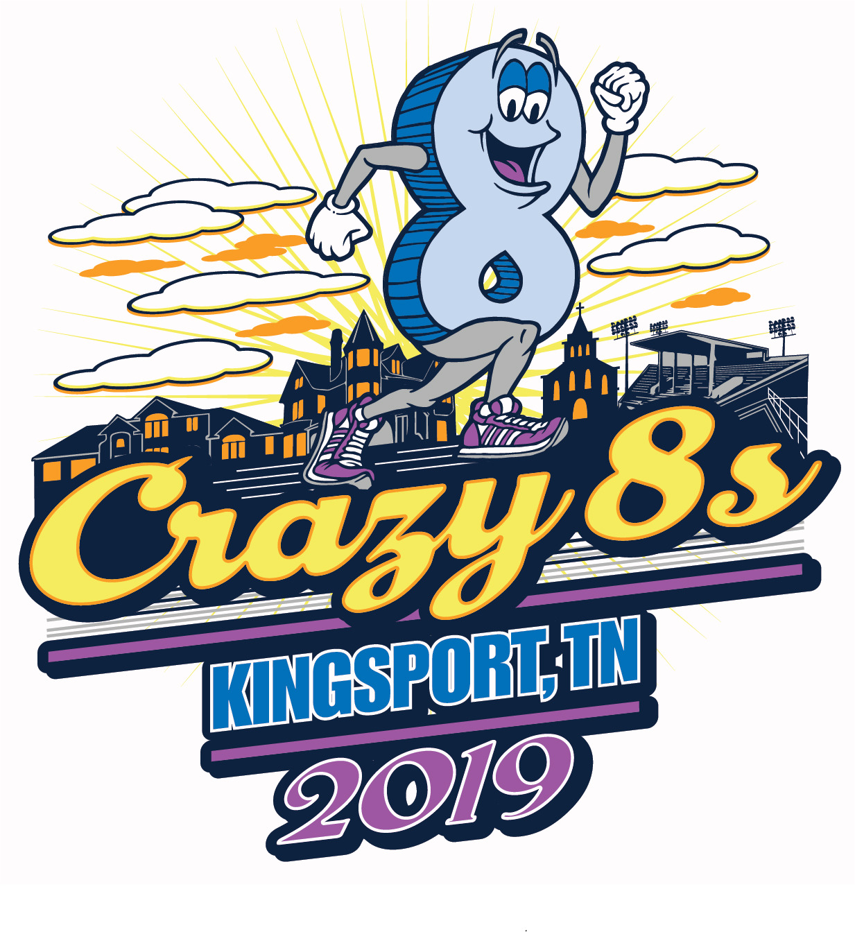 Crazy 8s 2019 Artwork