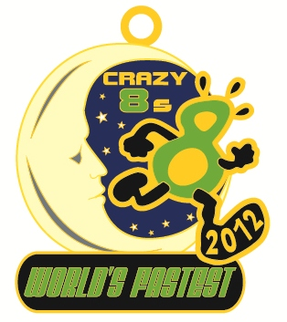 Crazy 8s Medal 2012