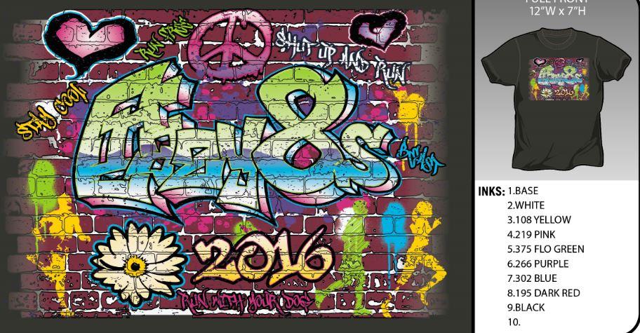 Crazy8s 2016 Artwork