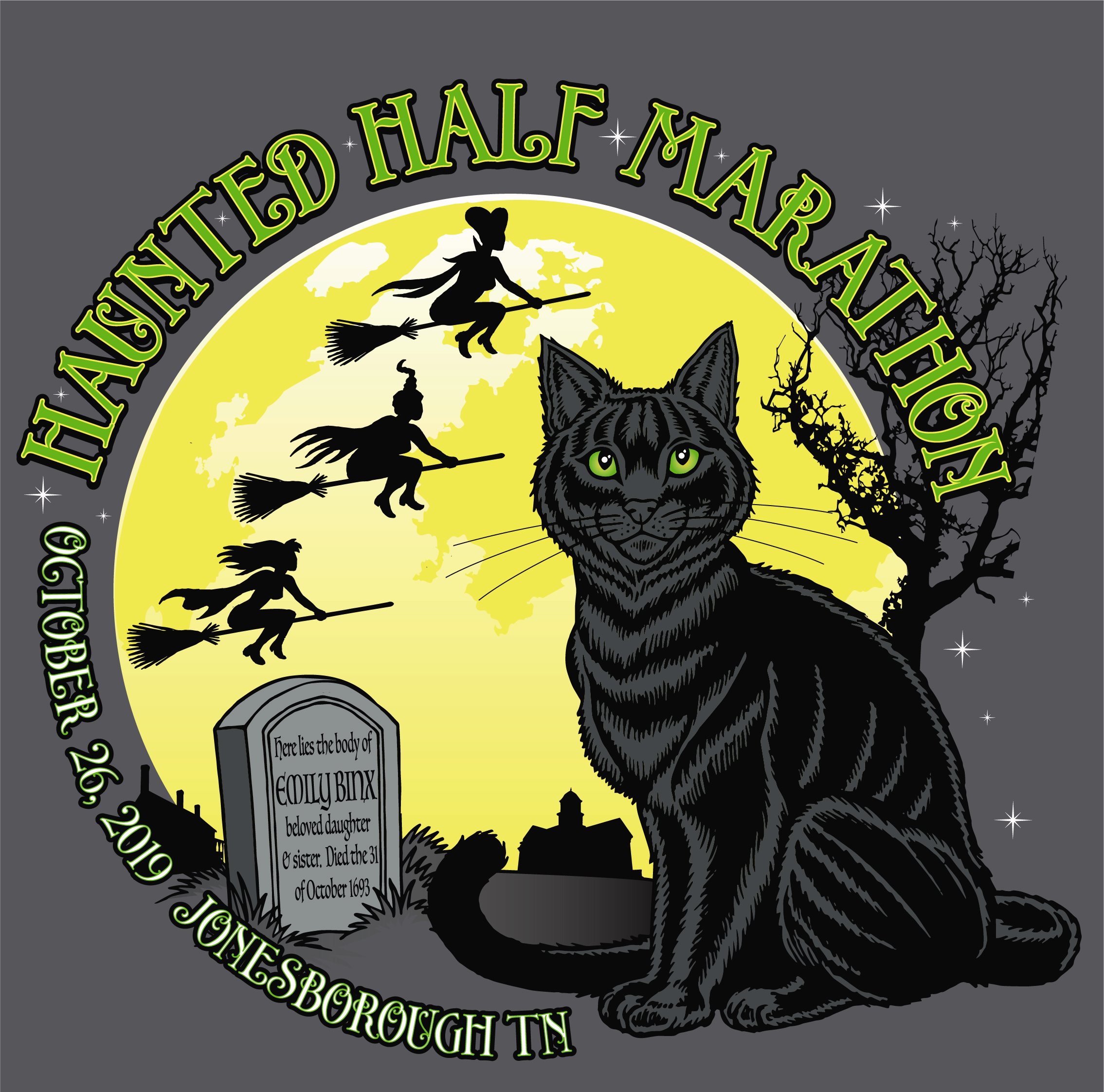 Haunted Half 19 Artwork