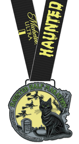 Haunted Half 2019 Medal