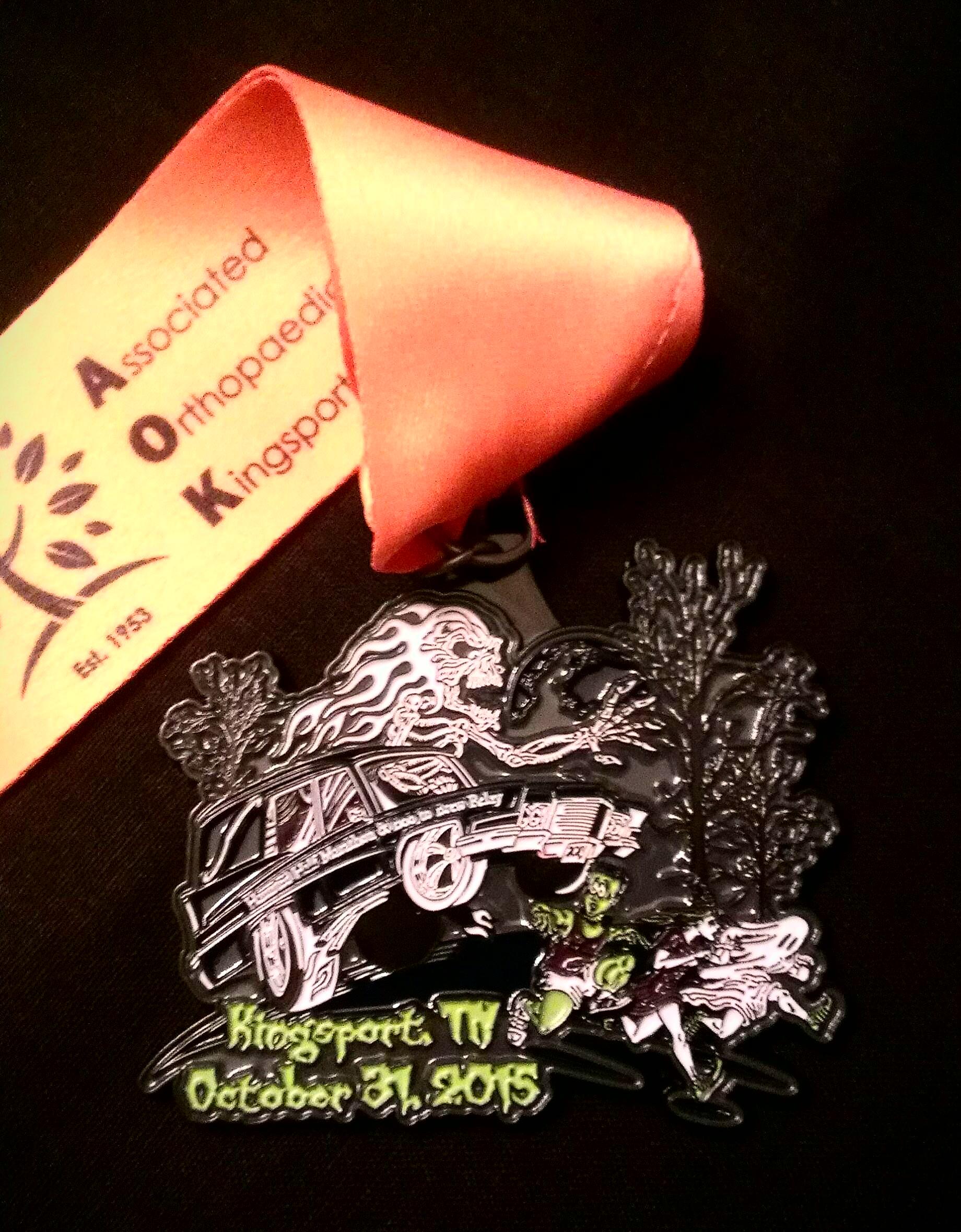 HauntedHalf15 Medal
