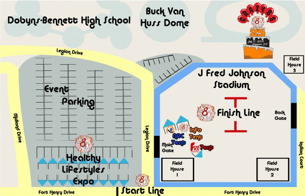 2015 Expo Map